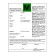 Certificado de verificación para las balanzas industriales.