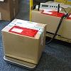 Sólidas balanzas para paquetería con una gran plataforma.