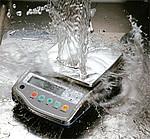 Balanzas de precisión CB-8200D-WP con rango de pesaje hasta 8200 g, precisión 0,1 g, plato inox 190x190, RS232C de serie, protección IP65