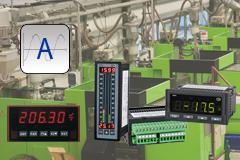 Amperímetros de instalación fija para la industria