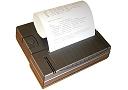 Impresora para los analizadores para humedad.
