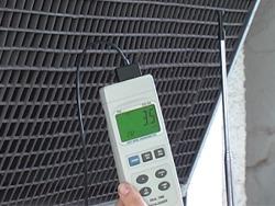 Caudalímetros de aire con sonda externa de hilo térmico con posibilidad de transferencia de datos.