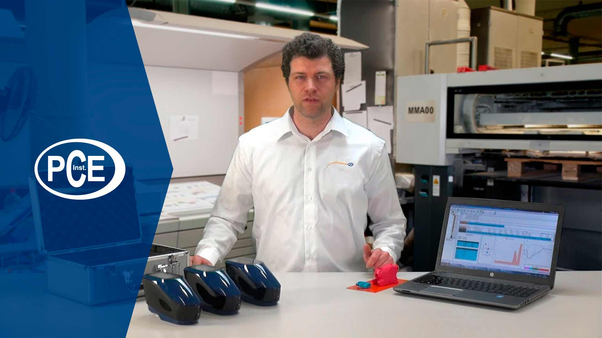 Vídeo presentación de los colorímetros PCE-CSM 20/21/22.
