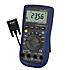 Comprobadores de tensión PCE-UT 61D con interfaz RS-232, valor máx y min, selección de rango automática.