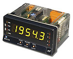 Contadores de impulsos MICRA-D de 5 dígitos, 2 entradas programables, trabaja como frecuencímetro, tacómetro