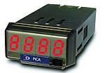 Contadores de impulsos PICA-F para la medición de frecuencias, velocidades r.p.m. o lineales, programable por teclado