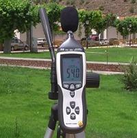 Estos controladores de ruido PCE-322 pueden ser utilizados para realizar mediciones de larga duración.