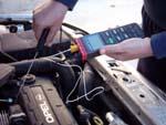 Realizando una medición de temperatura con los controladores de temperatura TL-309.