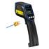 Controladores de temperatura sin contacto PCE-780 con alarma, muestra en pantalla la temperatura, humedad y temperatura del punto de rocío, -50 ... 380 ºC