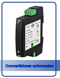 Convertidores de señal universal de señal