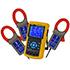 Data logger PCE-PA 8000 para mediciones de 1 a 3 fases de todas las magnitudes eléctricas, con tarjeta de memoria SD