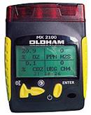 Detectores de gas explosivo MX-2100 para cuatro tipos de gases.