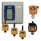 Detectores de gas explosivo para uso profesional en el sector de la industria para el trabajo diario.
