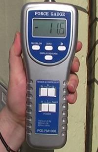 Dinamometros con célula externa