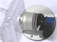 Adaptador para cámaras digitales con todo tipo de fibroscopios (para profesionales).