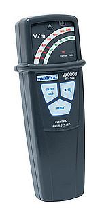 Gaussimetros VX0003 para campos electromagnéticos, antena interna 3 kHz, ideal para viviendas