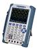 Generadores de funciones PCE-DSO8060 con osciloscopio y multímetro para uso portátil, 1Hz ... 25 MHz