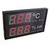 Termohigrómetros RITE RD 1826/2009 en formato A3 para temperatura y humedad