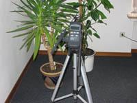 Humidimetros usado con el tripode.