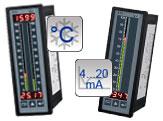 Imagen de una medición realizada con los indicadores digitales con gráficos de barra