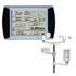 Medidores para humedad de aire PCE-FWS 20 para la medición de la temperatura, humedad, pluviometría, velocidad del viento, logger, USB, software, ...