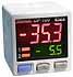 Indicadores de presión serie DP100 para la medición de la presión con salida de alarma y pantalla, rango de -1 ... 1 bar o -1 ... 10 bar