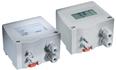 Indicadores de presión lineal para presiones diferenciales, con contacto de mando y salida analógica.