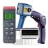 Indicadores de temperatura para el uso móvil desde un termómetro de contacto hasta una cámara termográfica.