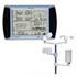 Indicadores PCE-FWS 20 para temperatura, humedad, pluviometría, velocidad del viento, logger, USB, software, ...