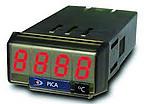Indicadores de temperatura PICA-T para Pt100 o termopar J, K, T, medición en ºC o ºF