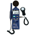 Luxómetro PCE-EM882 multifunción medioambiental 4 en 1 reúnen en un medidor el nivel sonoro, un luxómetro, un medidor de humedad y un medidor de temperatura.