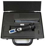 Todos los refractómetros se entregan en un práctico maletín para su perfecta conservación.