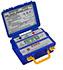 Medidores de aislamiento PCE-IT413 hasta 5.000 V, cabezal de protección integral, microprocesador CMOS, resistencia de aislamiento 2000 MΩ