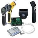 Medidores de temperatura sin contacto por medio de la radiación infrarrojo de un cuerpo.