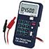 Estos calibradores de medidores de temperatura PCE-123 indican el valor nominal para simulación y medición de señales eléctricas.