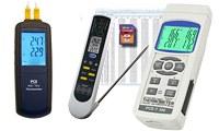 Medidores de temperatura de contacto con varias entradas (de 1 a 4) con o sin memoria y software