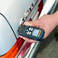 Medidores de espesores de capas / pintura / paredes / material  en la comprobación del espesor del material.