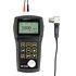 Medidores de grosor PCE-TG 250 para la medición para la velocidad del sonido regulable, memoria, software...