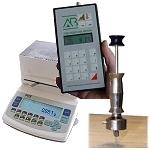 Medidores de humedad absoluta fáciles de manejar para gran variedad de materiales.