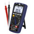 Medidores para humedad de aire del aire PCE-EM 886 que incluyen sensores de sonido, luz, temperatura, humedad y con función de multímetro