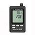 Medidores de temperatura sin contacto PCE-HT-110 con logger de datos y display.
