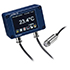 Medidores de temperatura sin contacto PCE-IR 53 miden la temperatura superficial sin contacto, pantalla OLED, Modbus seleccionable, rango de -20 ... 250 ºC