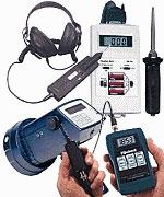 Medidores de vibración para inspección y mantenimiento.