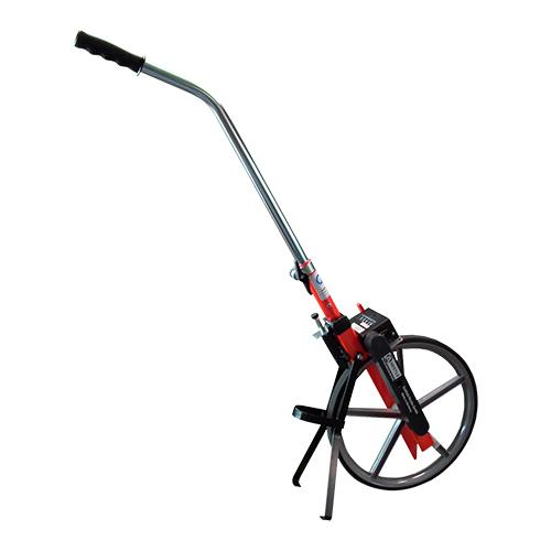 Odómetros 12004001 con rango hasta 9.999,99 m / lectura en cm, tamaño de la rueda 1 m, ideal para la construcción