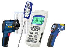 Termómetros para el uso profesional.