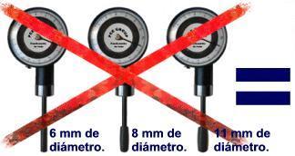 Estos penetrómetros, le evitará tener que adquirir varios tipos de penetrómetros analógicos para los distintos tipos de frutas.