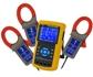 Pinzas amperimétricas trifásica PCE-PA 8000 para mediciones de 1 a 3 fases de todas las magnitudes eléctricas, con tarjeta de memoria SD