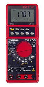 Polímetros digitales MX57EX para atmósferas explosivas, tensión AC y AC+DC de 0,5 hasta 60V, resistencia