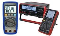 Polímetros digitales con muchos extras como la medición efectiva real.