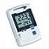 Registradores de datos Log100 / Log110 temperatura / temperatura y humedad con entrada para sensor de temperatura externo, memoria: 60.000 valores
